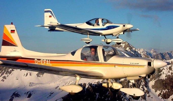 Alpen Rundflug
