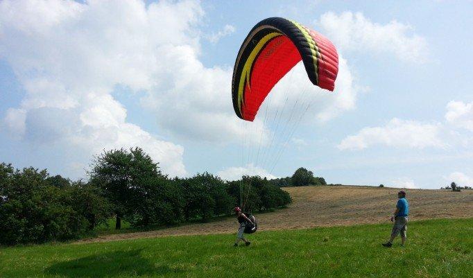 Gleitschirm fliegen Kurs