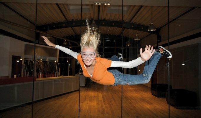 Skydiving indoor bei Fun4You