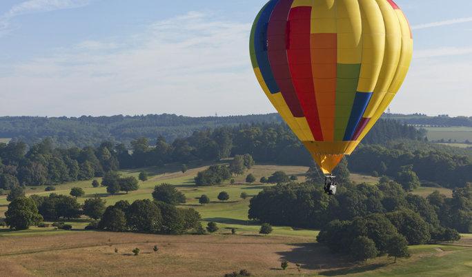 Ballonfahrt um Bad Homburg von der Höhe und Neu-Anspach