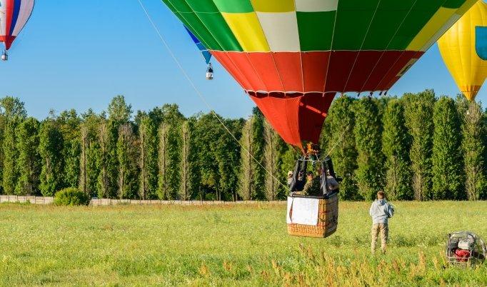 Ballon fahren in Pritzwalk