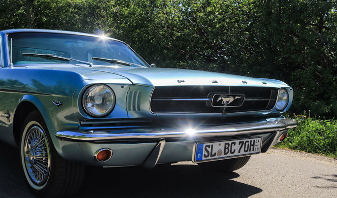 Ford Mustang 65 Front