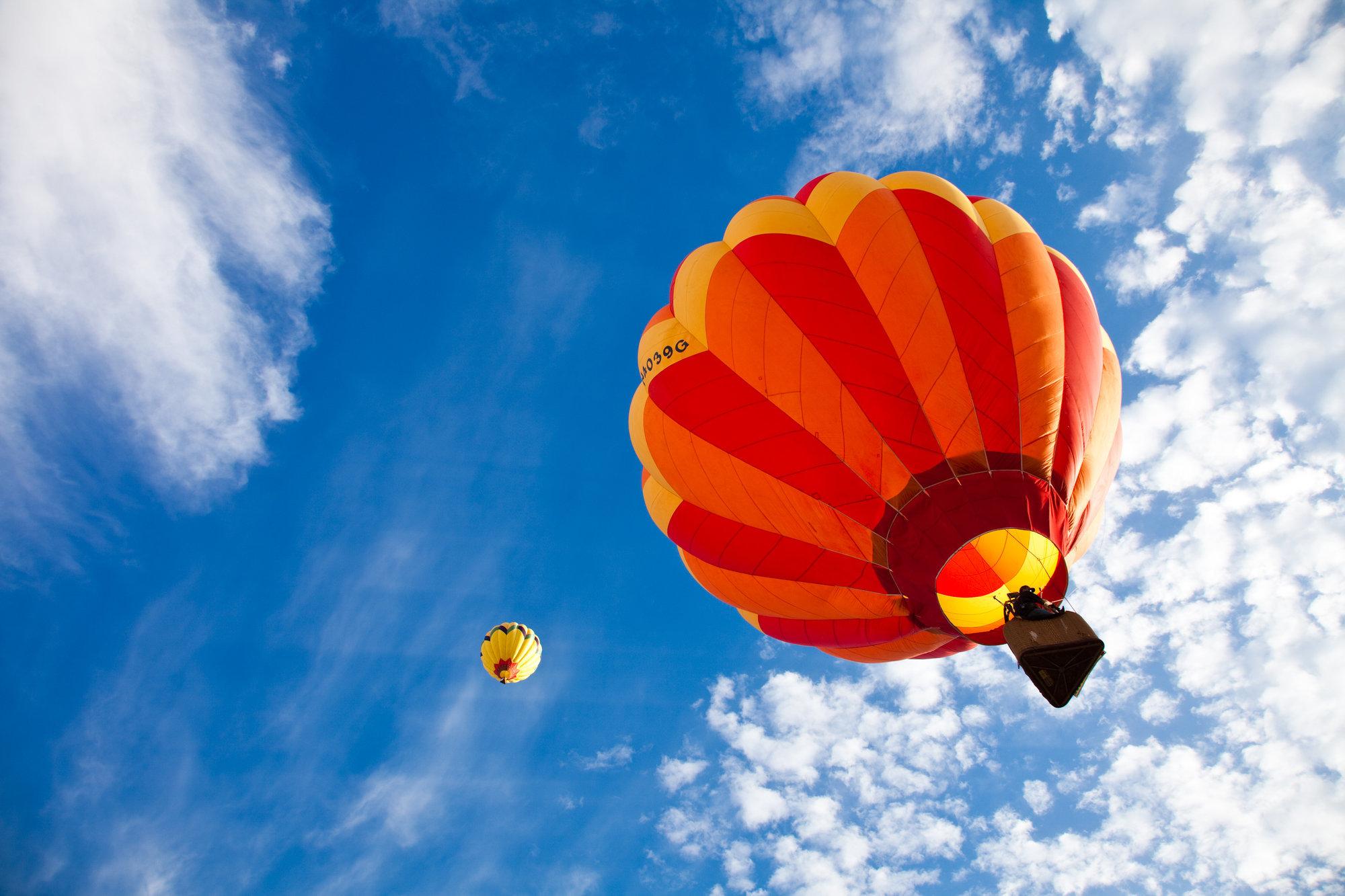 Ballonfahrt in Lindern bei Cloppenburg