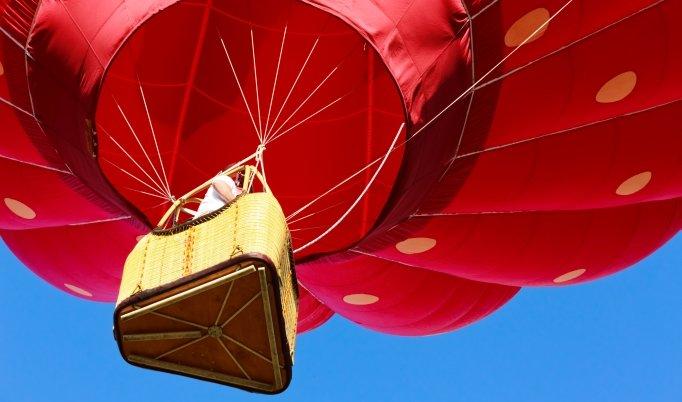 Ballonfahrt um Coburg und Kronach