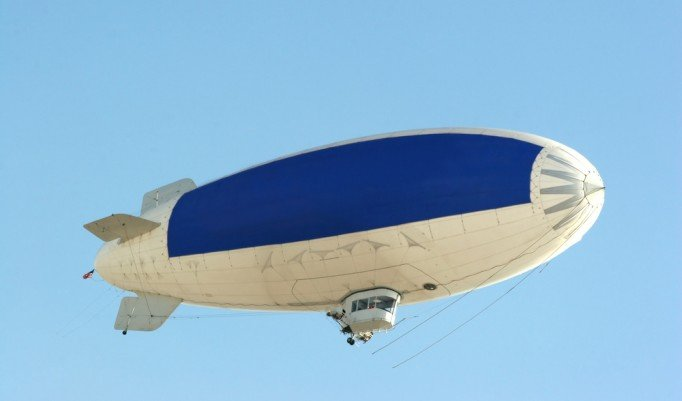 Heißluft-Luftschiff Rundflug